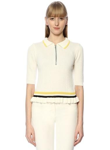 Cubic Bluz Beyaz